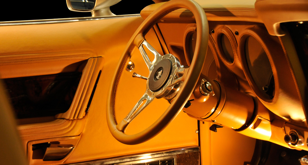 LEAD FOOT motoring interior